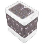 Modelo abstracto moderno refrigerador igloo