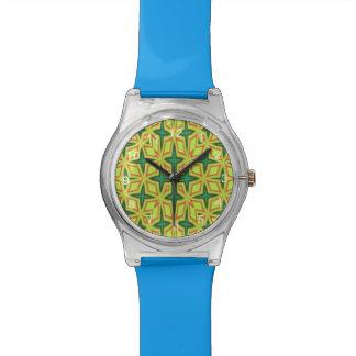 Modelo abstracto moderno relojes de pulsera