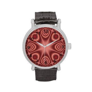 modelo abstracto Mono-coloreado Reloj