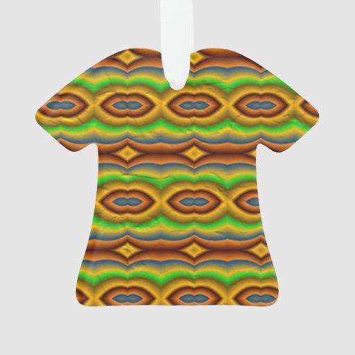 Modelo abstracto multicolor