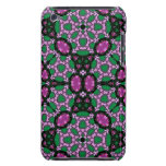 Modelo abstracto multicolor barely there iPod protectores