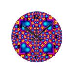 Modelo abstracto multicolor relojes