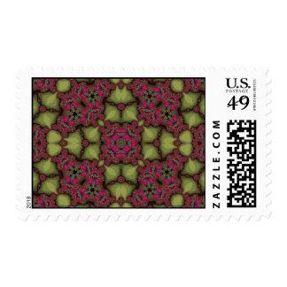 Modelo abstracto multicolor sellos