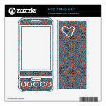 Modelo abstracto multicolor skins para HTC T-Mobile g1