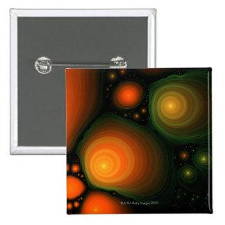 Modelo abstracto pin cuadrada 5 cm
