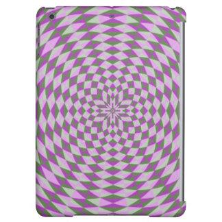 Modelo abstracto púrpura del círculo
