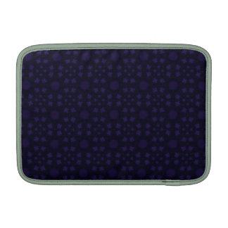 Modelo abstracto púrpura fundas para macbook air