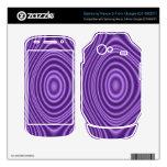 modelo abstracto púrpura samsung nexus s skins