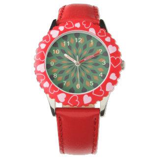 Modelo abstracto relojes de pulsera
