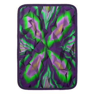 Modelo abstracto rizado funda macbook air