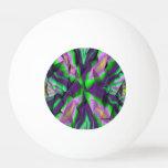 Modelo abstracto rizado pelota de ping pong