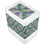 Modelo abstracto rizado refrigerador igloo