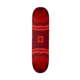 """Modelo abstracto rojo de moda patineta 7 3/4"""""""