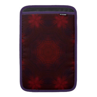Modelo abstracto rojo funda  MacBook