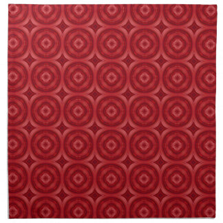 Modelo abstracto rojo servilletas de papel