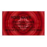 Modelo abstracto rojo plantilla de tarjeta de negocio