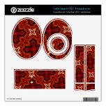 Modelo abstracto rojo turtle beach px21 skin