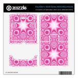 Modelo abstracto rosado BlackBerry calcomanía