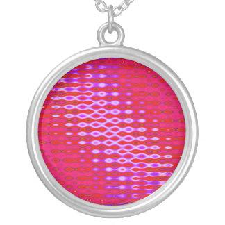 modelo abstracto rosado colgante redondo