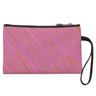 Modelo abstracto rosado diagonal