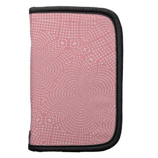 Modelo abstracto rosado femenino organizadores