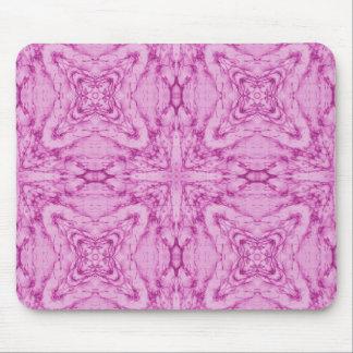 Modelo abstracto rosado tapete de ratones
