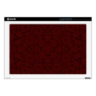 Modelo abstracto único rojo calcomanía para 43,2cm portátil