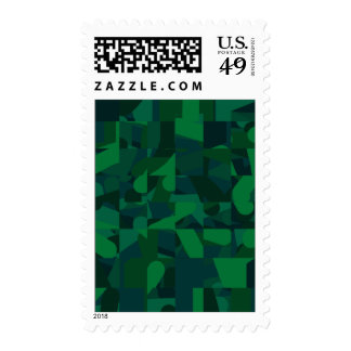 Modelo abstracto verde