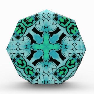 Modelo abstracto verde de la moda de la cadera del