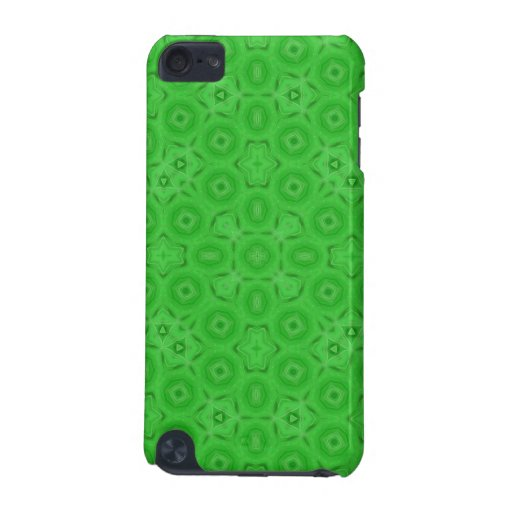 Modelo abstracto verde funda para iPod touch 5G