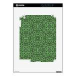 Modelo abstracto verde iPad 2 skins