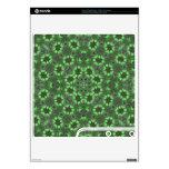 Modelo abstracto verde calcomanías para el PS3 slim