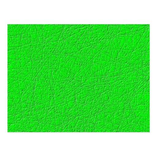 Modelo abstracto verde postal