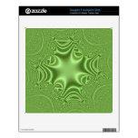 modelo abstracto verde skins para FreeAgent desk