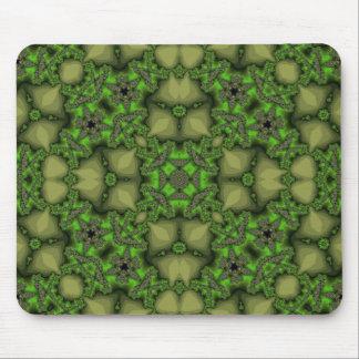 Modelo abstracto verde tapete de ratones
