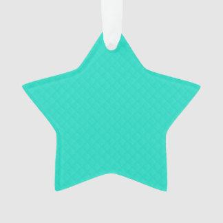 Modelo acolchado azul de la aguamarina de Tiffany