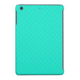 Modelo acolchado azul de la aguamarina de Tiffany Funda De iPad Mini