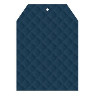 "Modelo acolchado azul de medianoche invitación 5"" x 7"""