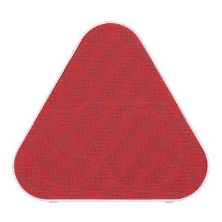 Modelo acolchado rojo del navidad del arándano altavoz bluetooth