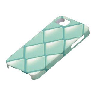 Modelo acolchado trullo del diamante iPhone 5 carcasas