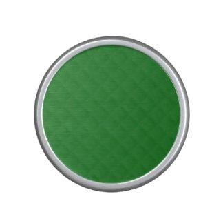 Modelo acolchado verde del navidad altavoz bluetooth