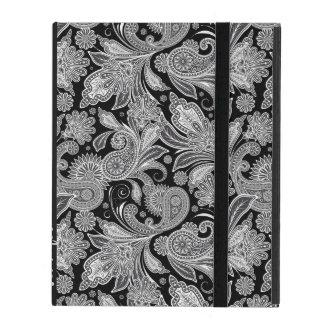 Modelo adornado negro y blanco de Monogramed de