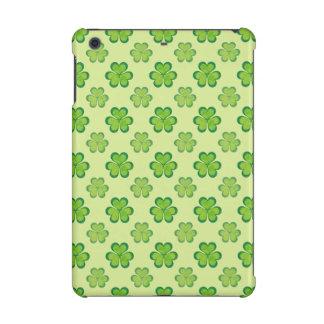 Modelo afortunado verde elegante del trébol del