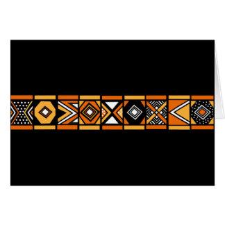 Modelo africano tarjetón