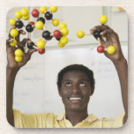 Modelo africano de la molécula de la visión del ad posavaso