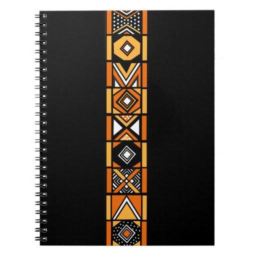Modelo africano del arte libretas