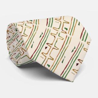 Modelo africano exótico del paño del fango corbata personalizada