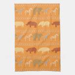 Modelo africano toallas de mano