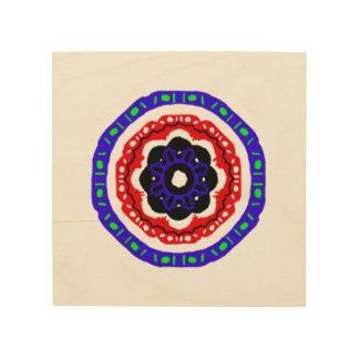 Modelo agradable del círculo cuadro de madera