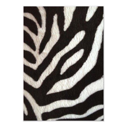 modelo agradable del estampado de zebra anuncios personalizados